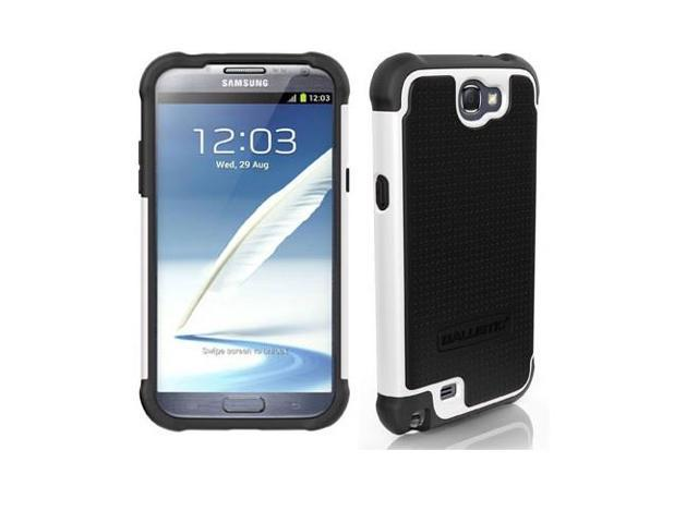 Black/White Ballistic SG Series Rugged Case for Samsung Galaxy Note 2