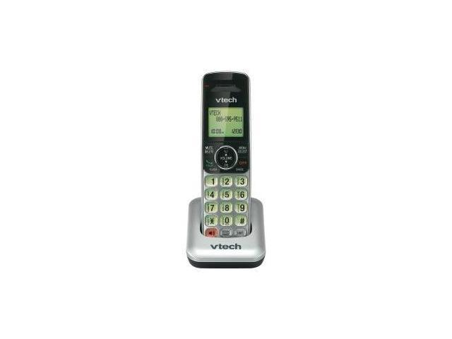 VTech CS6409 DECT 6.0 Accessory Handset Cordless Phone, Silver/Black, 1 Accessory Handset