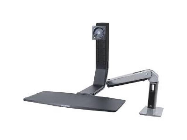 Ergotron 24-383-026 WorkFit-P, Sit-Stand Workstation