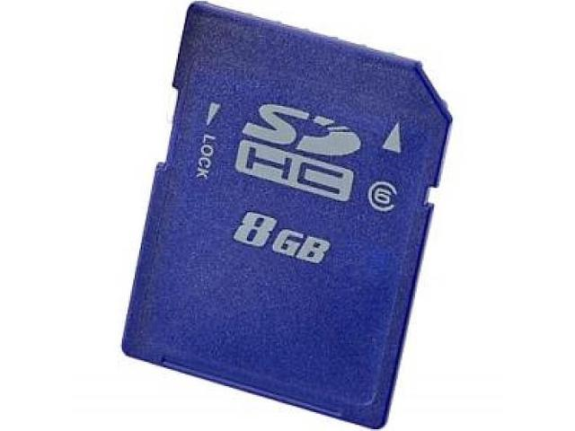 HP 8 GB Secure Digital High Capacity (SDHC)