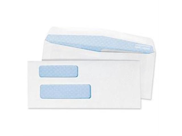 Quality Park Products QUA24527 Double Window Envelope- 24Lb- No 9- 3-.88in.x8-.88in.- WE