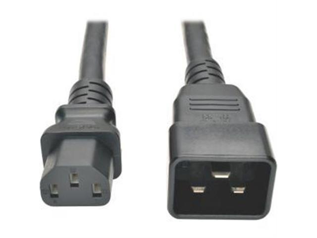 Tripp Lite Model P032-003 3.28 ft. Heavy-Duty Power Cord for PDU, 15A, 12 AWG (IEC-320-C13 to IEC-320-C20)