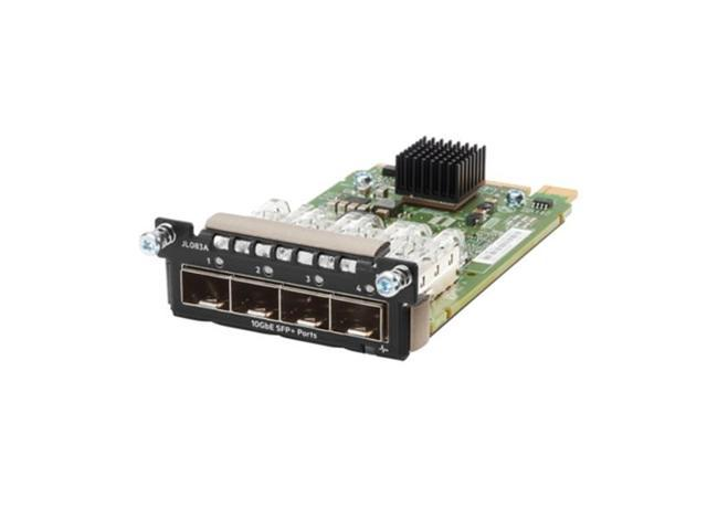 HP JL083A Aruba - Expansion Module - 10 Gigabit Sfp+ X 4 - For Aruba 3810M 16Sfp+, 3810M 24G, 3810M 48G