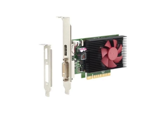HP GeForce GT 730 GFX DirectX 12 N3R90AT 2GB DDR3 PCI Express x8 Low Profile Graphics Card