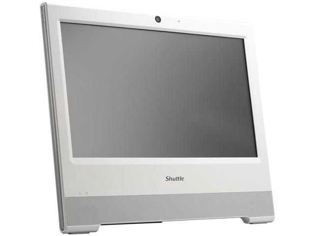 Shuttle X50V5 WHITE All-in-One Computer - Intel Celeron 3855U 1.60 GHz - Desktop - White