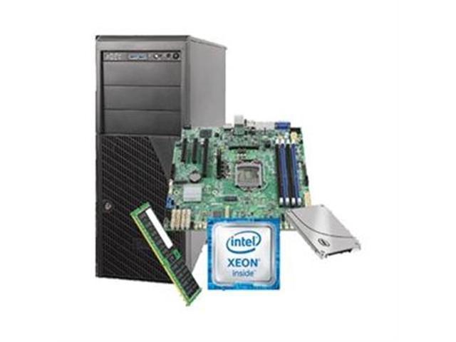 Intel Server System LSVRP4304ES6XX1 4U Pedestal Server - 1 x Intel Xeon E3-1230 v5 Quad-core (4 Core) 3.40 GHz