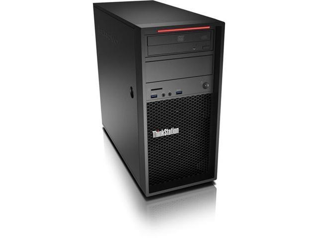 Lenovo ThinkStation P410 30B3001SUS Workstation - 1 x Processors Supported - 1 x Intel Xeon E5-1630 v4 Quad-core (4 Core