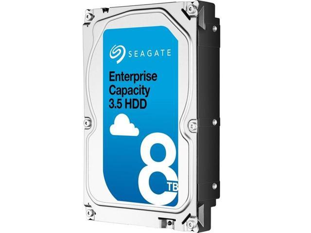 Seagate 8TB Enterprise Desktop Hard Disk Drive - 7200 RPM SAS 12Gb/s 256MB 3.5