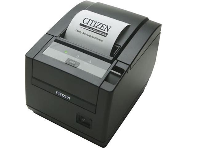 Citizen CT-S601IIS3RSUBKP Thermal Pos, Ct-S600 Type Ii, Top Exit, Serial, Black