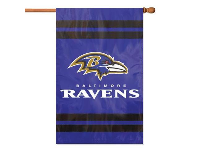 The Party Animal NFL Indoor/Outdoor 2-Sided Banner/Flag - Baltimore Ravens