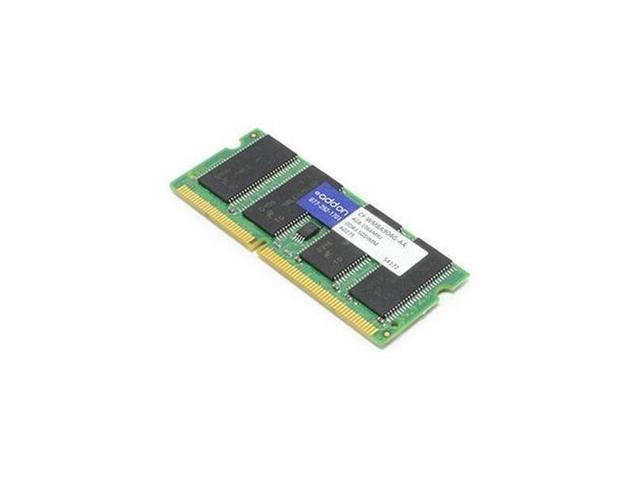 AddOn JEDEC Standard Compatible 4GB DDR3-1066MHz Dual Rank Unbuffered 1.5V 204-pin CL7 SODIMM - 100%