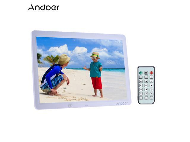 Andoer 15 Inch Large Screen LED Digital Photo Frame Album Wall ...