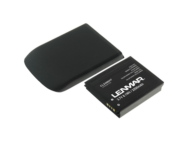 Lenmar 2200 mAh Extended Battery for HTC My Touch 4G CLZ486HT