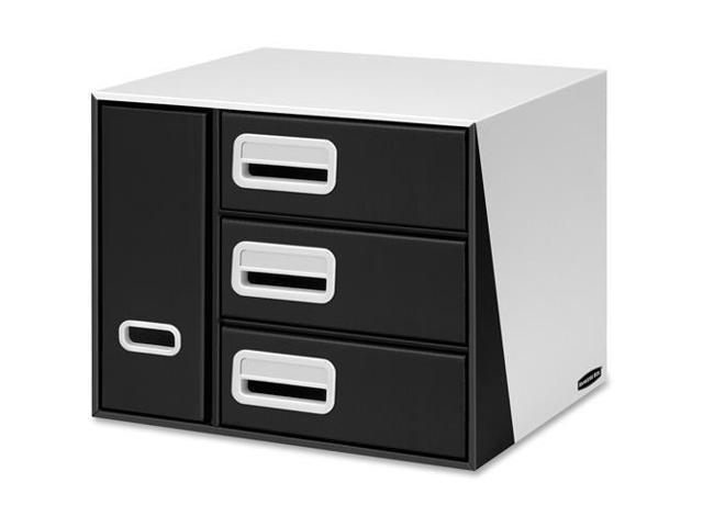 Fellowes 7648001 Premier 3 Drawer Bin Organizer   Desktop   12.5