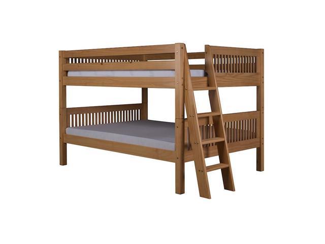 Camaflexi Full/Full Low Bunk Bed Ladder, Mission HB, Natural - C2211L-