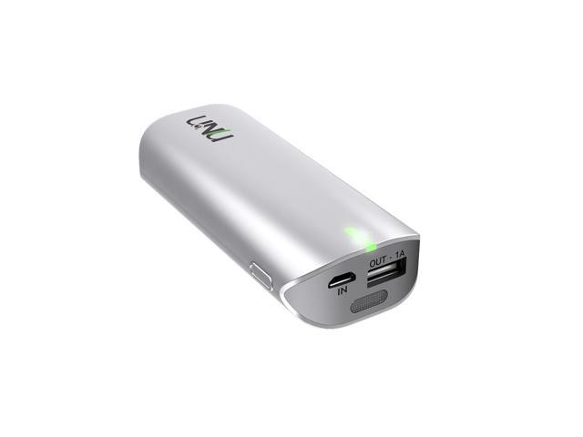 UNU Enerpak Tube 5000mAh  w/ Flash- WHITE