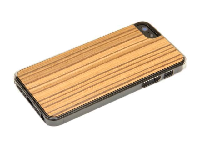 CARVED - Reconstituted Zebrawood - Wood iPhone 5 / 5S Case