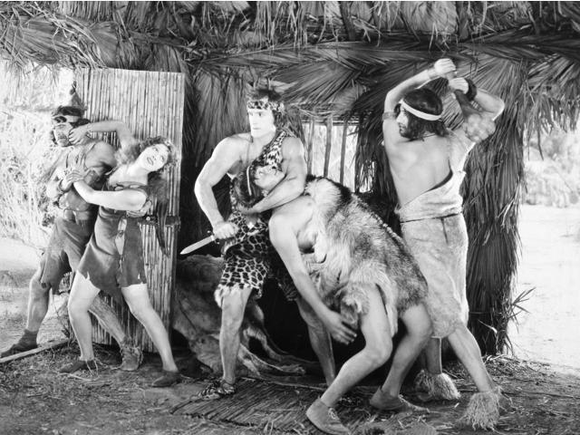 Tarzan The Mighty 1928 Nfrank Merrill In The Title Role And Natalie Kingston In Tarzan The Mighty 1928 Poster Print by  (18 x 24)