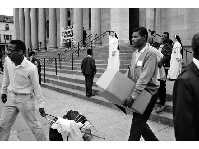 Washington Riots 1968 Nyoung Black Men Carrying Supplies From A Food Distribution Center At A Church In Washington DC 8 April 1968 In The Aftermath Of Rioting That Followed The Assassination Of Civil
