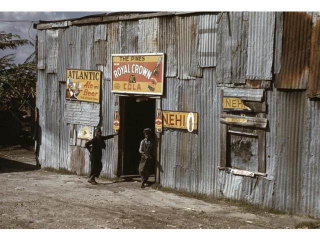 Migrant Workers 1941 Nyoung African American Migrant Workers Outside A Juke Joint In Belle Glade Florida Photograph 1941 Poster Print by  (18 x 24)