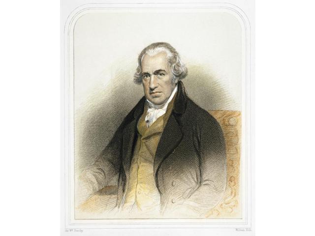 James Watt (1736-1819) Nscottish Engineer And Inventor Color Engraving After A Painting By Sir William Beechy Poster Print by  (18 x 24)