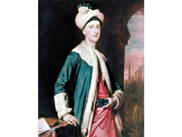John Montagu (1718-1792) N4Th Earl Of Sandwich Canvas 17140 By J Highmore Poster Print by  (18 x 24)