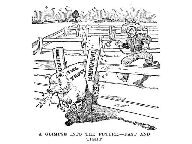 Roosevelt Cartoon C1906 Ncartoon C1906 From The St Paul Pioneer Press On President Theodore RooseveltS Efforts To Regulate The Trusts By Government Control Poster Print by  (18 x 24)