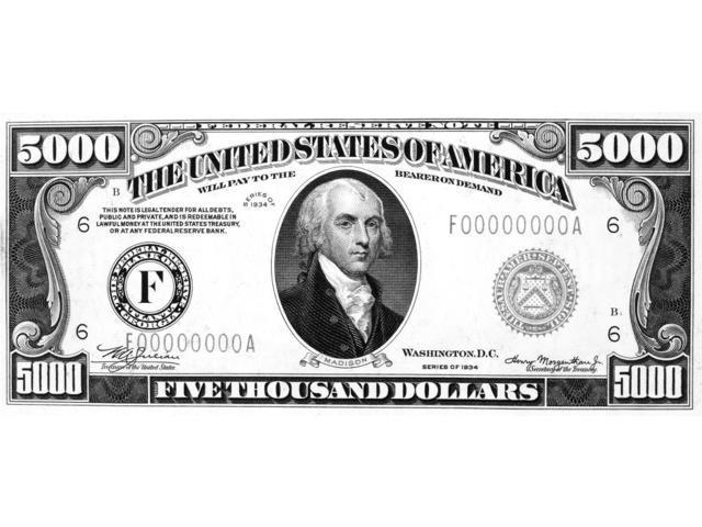 U S Fifty Dollar Bill 1996 50 Federal Reserve Ladder Note N Ae 01020304