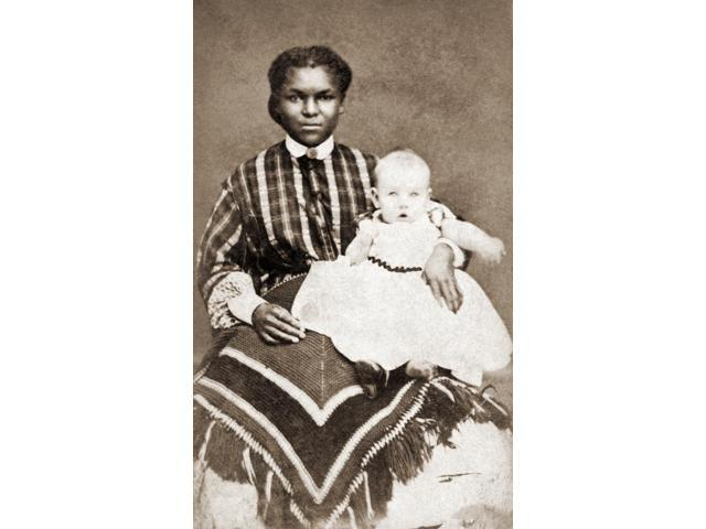 Nanny & Child 1866 Nphotograph 1866 Poster Print by  (18 x 24)