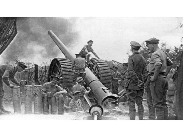WWI English Artillery Poster Print by Science Source (24 x 18)