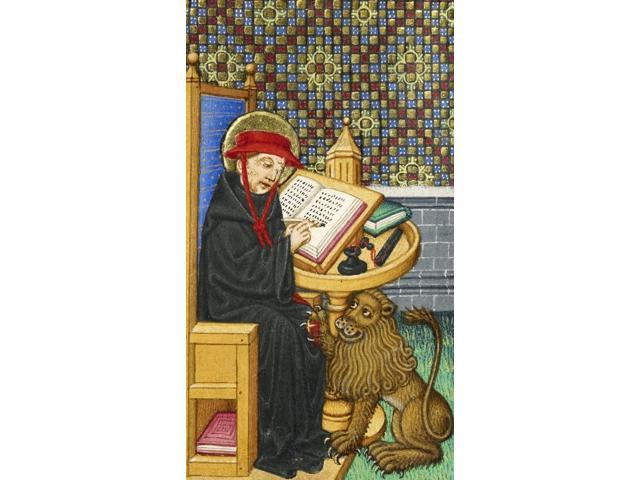 Saint Jerome Translating the Bible c 1430 Poster Print by Science Source (18 x 24)