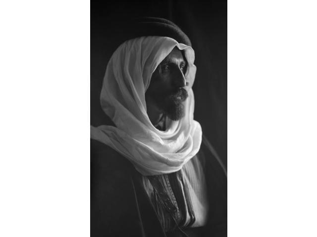 Bedouin Man C1910 Nportrait Of A Bedouin Man Photograph C1910 Poster Print by  (18 x 24)