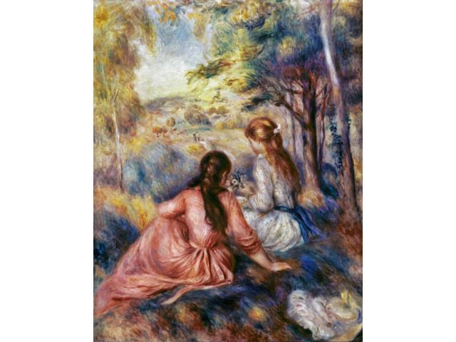 Renoir Meadow C1890 Npierre Auguste Renoir In The Meadow Oil On Canvas C1890 Poster Print by  (18 x 24)