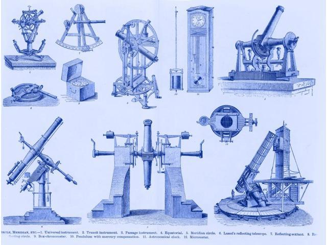 Historical Astronomy Instruments Poster Print by Science Source (24 x 18)
