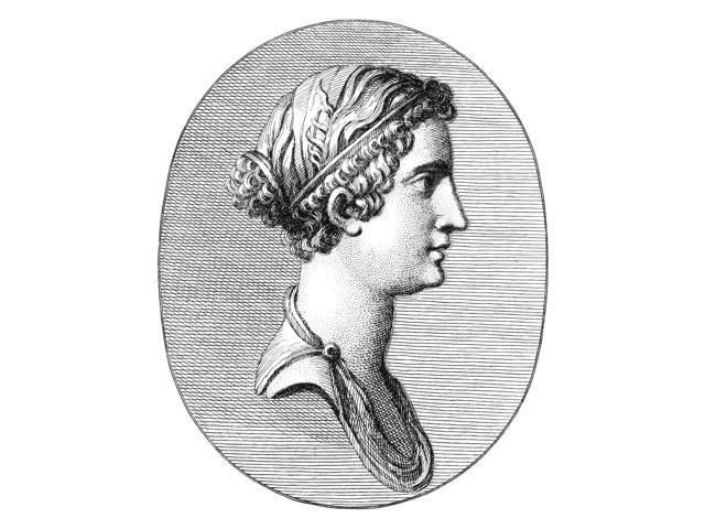 Julia (39 BC - 14 AD) Ndaughter Of Augustus And 2Nd Wife Of Tiberius Line Engraving Late 18Th Or Early 19Th Century Poster Print by  (18 x 24)