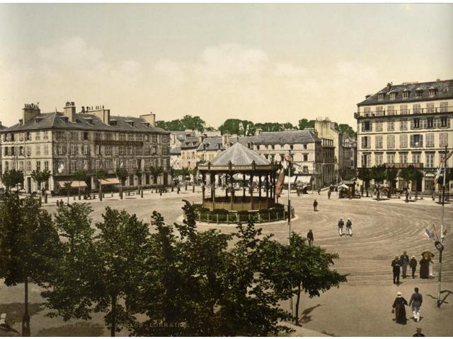 France Lorient C1895 Nplace Alsace In Lorient France Photochrome C1895 Poster Print by  (18 x 24)