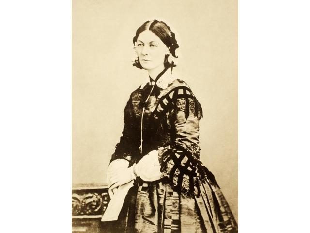 Florence Nightingale N(1820-1910) English Nurse Hospital Reformer And Philanthropist Poster Print by  (18 x 24)
