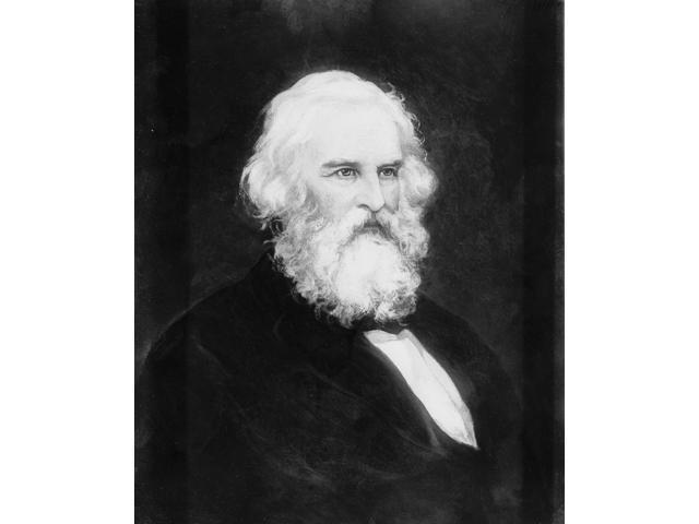 Henry Wadsworth Longfellow American Poet Poster Print by Science Source (18 x 24)