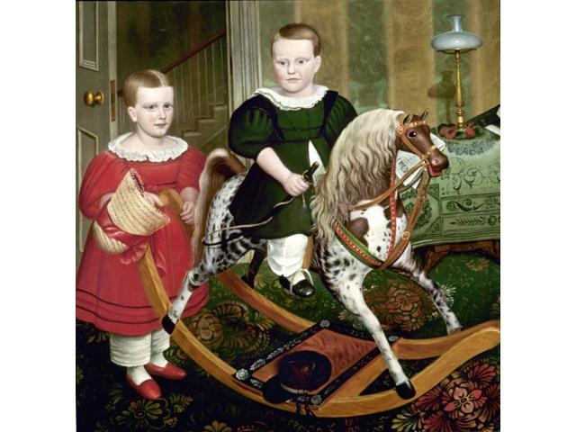 Anonymous Hobby Horse Ncanvas C1850 Poster Print by  (18 x 24)