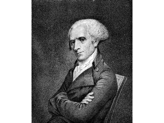 Elbridge Gerry (1744-1814) Namerican Statesman Stipple Engraving 19Th Century After A Drawing 1798 By John Vanderlyn Poster Print by  (18 x 24)