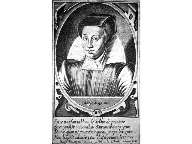 Loyse Bourgeois (1563-1636) Nfrench Midwife And Writer Bloyse As She Appeared At About Age Forty-Five Line Engraving German Early 17Th Century Poster Print by  (18 x 24)
