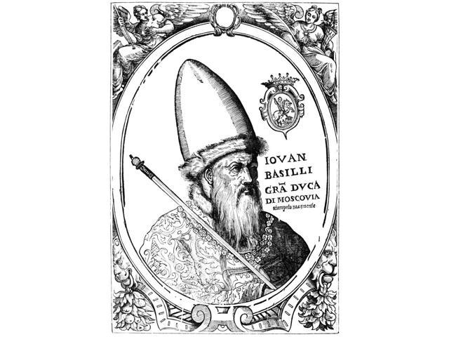 Ivan Iv Vasilevich (1530-1584) Ncalled Ivan The Terrible Ruler Of Russia As Grand Duke (1533-1547) And Czar (1547-1584) Italian Engraving Poster Print by  (18 x 24)