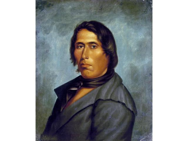 Tecumseh (1768-1813) Npresumed Portrait By An Unknown Artist Poster Print by  (18 x 24)
