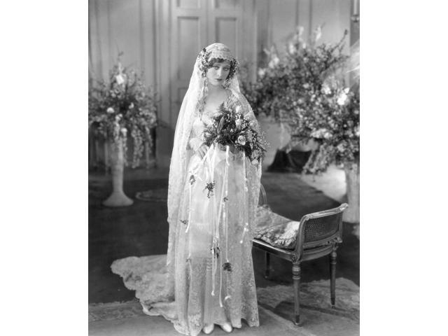 Silent Film Wedding Ndolores Costello Poster Print by  (18 x 24)
