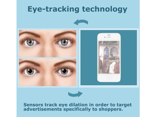 Eye-Tracking Technology Illustration Poster Print by Gwen ShockeyScience Source (24 x 18)