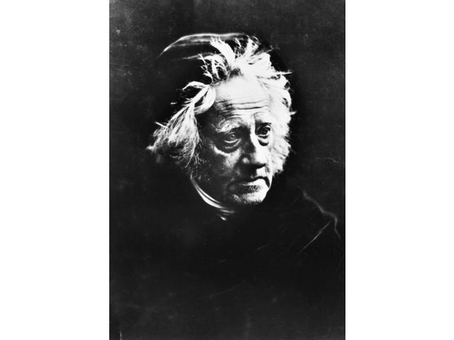 John FW Herschel N(1792-1871) Sir John Frederick William Herschel English Astronomer Photographed In 1867 By Julia M Cameron Poster Print by  (18 x 24)