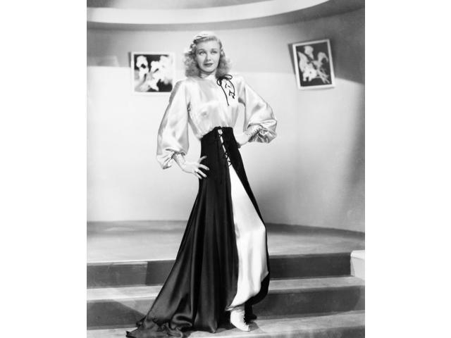 Ginger Rogers (1911-1995) NnE Virginia Mcmath American Actress And Dancer Poster Print by  (18 x 24)