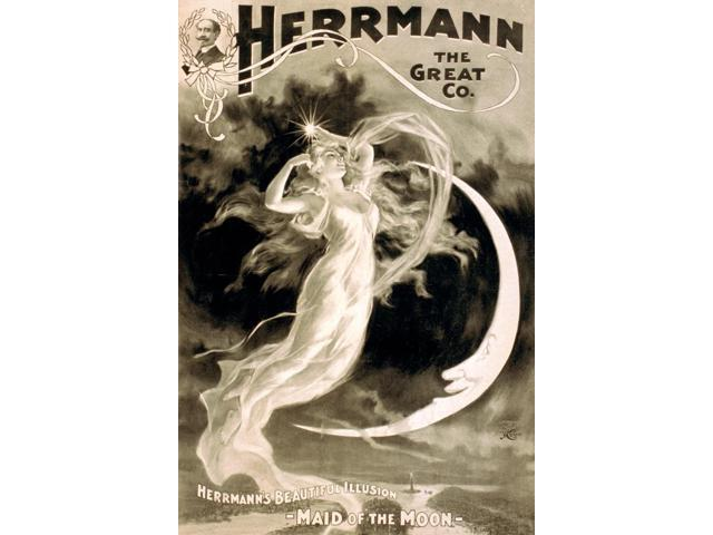 Alexander Herrmann French Magician Poster Print by Science Source (18 x 24)