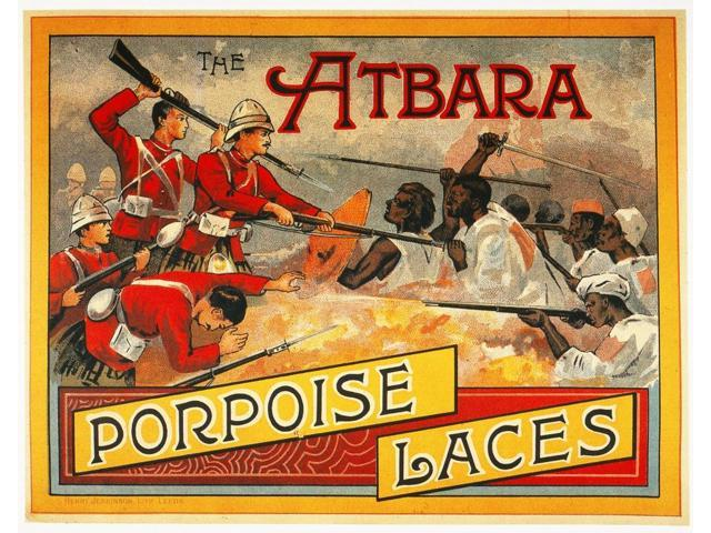 Sudan Atbara Battle 1898 Nbritish Forces Under The Command Of Horatio Herbert Kitchener Battling The KhalifaS Army Of Dervishes At The Battle Of Atbara In The Sudan 8 April 1898 English Lithograph Adv
