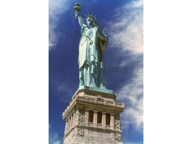 Statue Of Liberty Nthe Statue Of Liberty Poster Print by  (18 x 24)